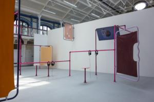 Puck Verkade, Breeder, installation view, Goldsmiths, London, 2017, Durst Britt and Mayhew