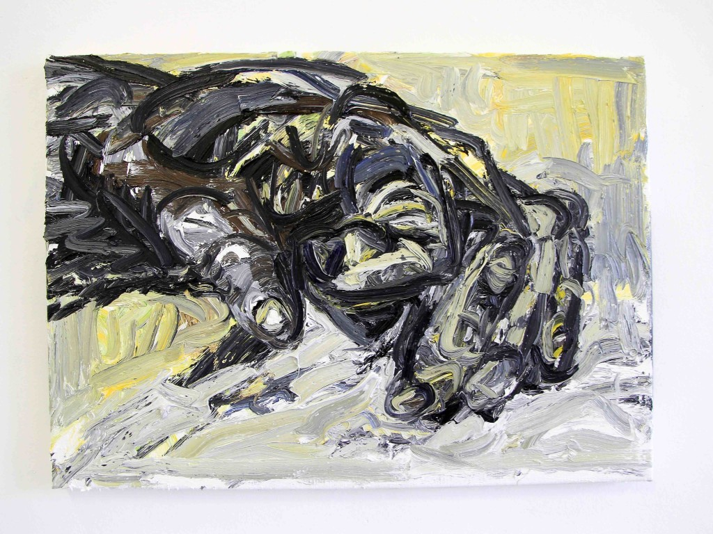 Wieske Wester, Claw, 2016, oil on canvas