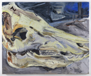 Wieske Wester, Arthur, 2020, oil on canvas, 150 x 180 cm
