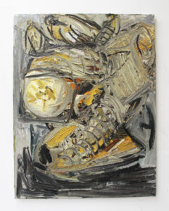 Wieske Wester, Bananas #11, oil on linen, 130 x 100 cm (collection Rabobank)