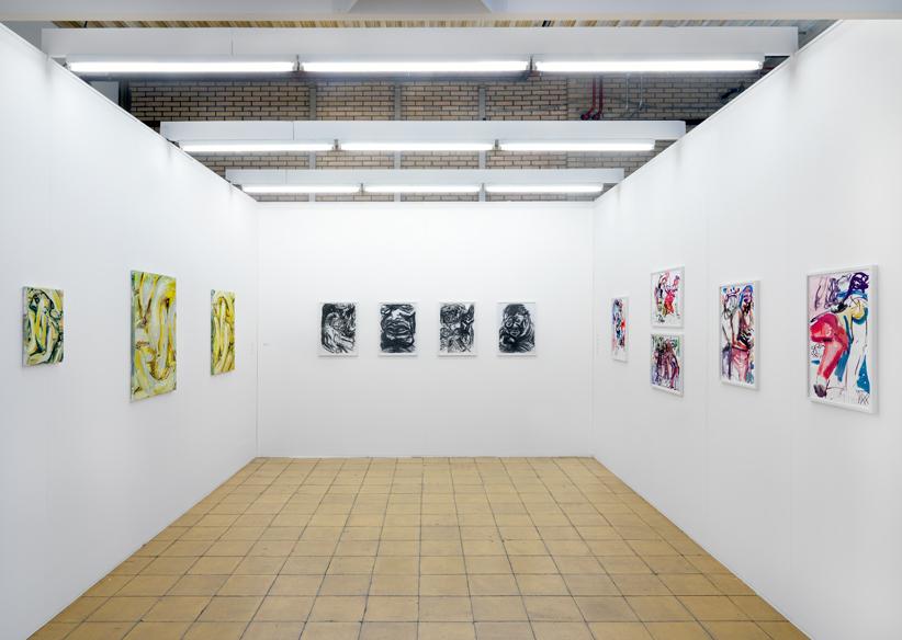 Solo booth, Wieske Wester, Art Rotterdam, 2017