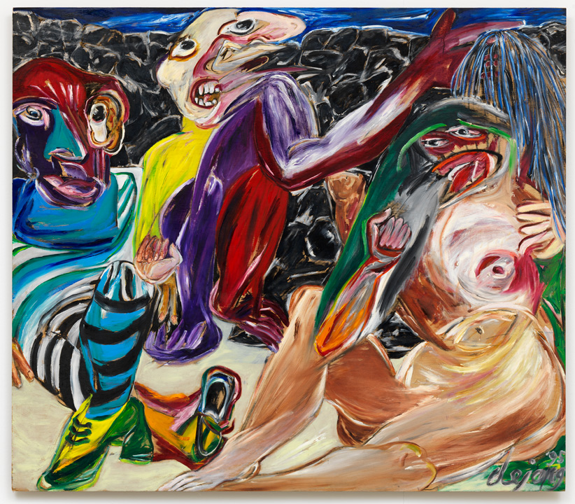 Jacqueline De Jong.Jacqueline De Jong Kobu 1995 Oil On Panel 122 5 140
