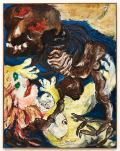 Qu'il a mauvais mine (Suicidal Paintings series), 1964, oil on canvas