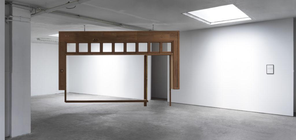 Pieter Paul Pothoven, facade suspended, installation view, 2018