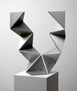 Willem Hussem, Untitled, ca. 1970-1971, aluminium, 73 x 69 x 30 cm