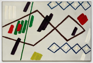 Willem Hussem, Untitled, ca. 1965, oil on canvas, 100 x 150 cm