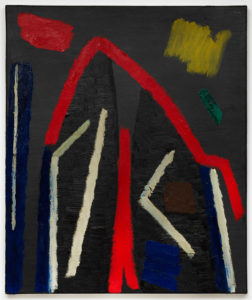 Willem Hussem, Untitled, 1961, oil on canvas, 120 x 100 cm