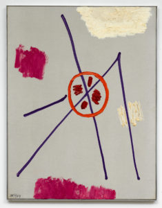 Willem Hussem, Untitled, 1964, oil on canvas, 90 x 70 cm (private collection)