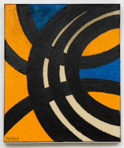 Willem Hussem, Untitled, 1966, oil on linen, 60 x 50 cm