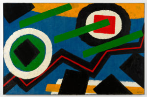 Willem Hussem, Untitled, 1970, oil on linen, 130 x 200 cm
