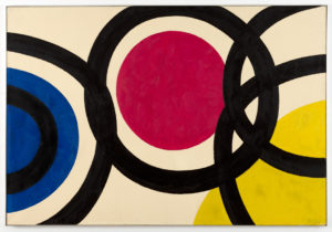 Willem Hussem, Untitled, 1966, oil on linen, 130 x 200 cm