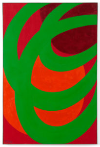 Willem Hussem, Untitled, 1966, oil on linen, 120 x 80 cm (collection AkzoNobel Art Foundation)