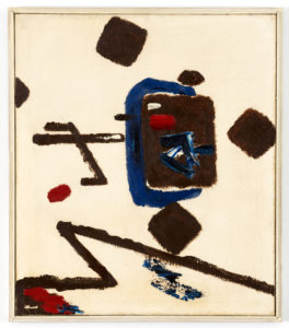 Willem Hussem, Untitled, 1956, oil on linen, 70 x 60 cm