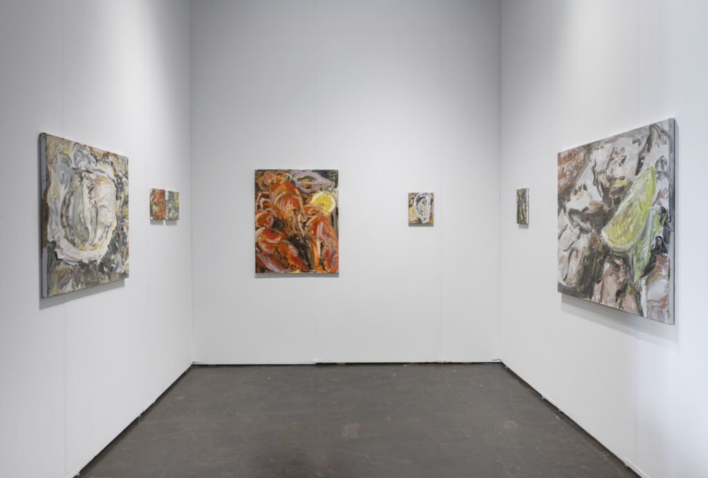 Installation view NADA Miami 2019, solo presentation by Wieske Wester