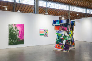 David Roth, Installation view, Vienna Contemporary, 2020