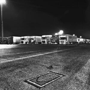 Marwan Bassiouni, 01:06:56, August 27th 2019. Dunkirk ferry terminal, Dunkirk, France.