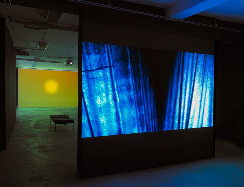 Raúl Ortega Ayala. 'Untitled' (curtains), single channel video, 5'50'', 2016.