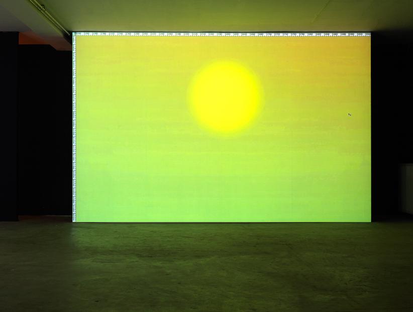 Alexandre Lavet. Sunset, Screencast, 9'09'', 2012.
