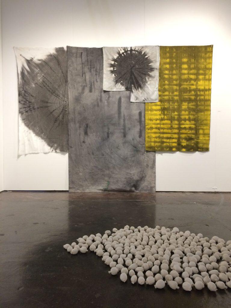 Installation view NADA Miami 2018: Paul Beumer, Sybren Renema